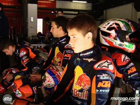 Test Red Bull rookies