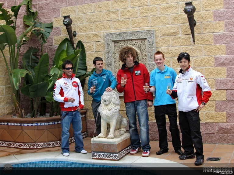 MotoGP riders take a taste of Andalucia
