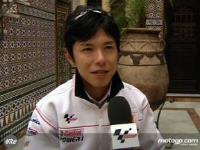 Nakano talks ahead of round two