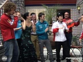 Folclore andaluz antes del inicio del GP