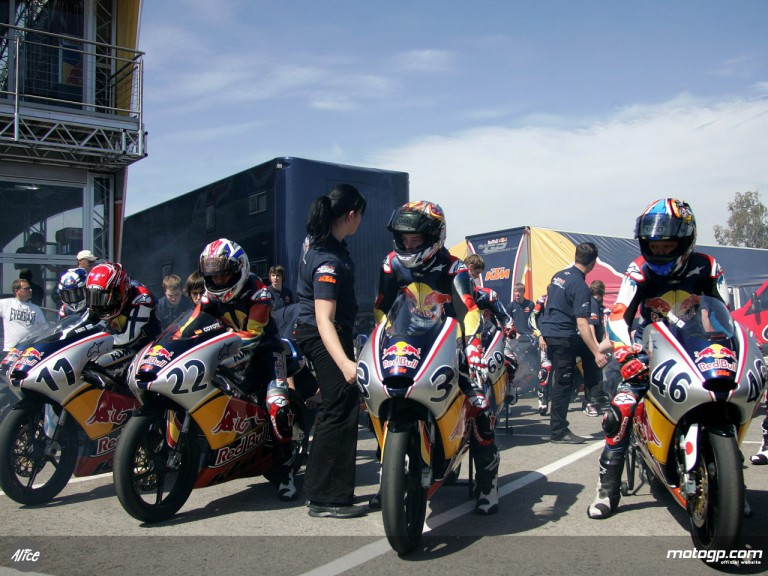 Red Bull MotoGP Rookies Cup gets underway in Jerez