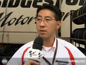 Ubukata on Bridgestone performance