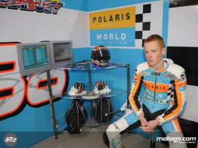 Bradley Smith in the Polaris World box