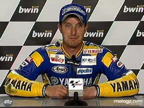 Colin EDWARDS apres QP