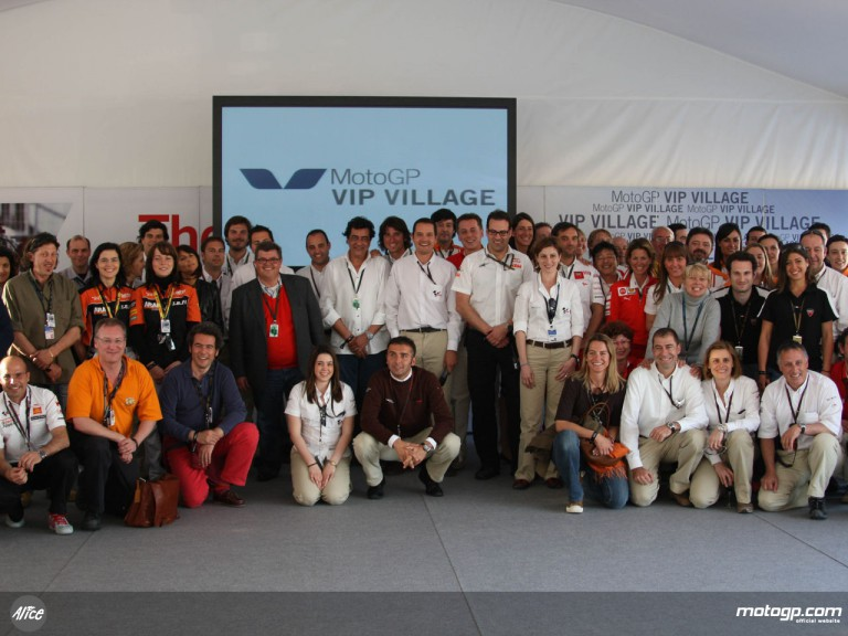 VIP Village launch 2008 campaign at Jerez