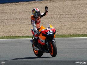 Pedrosa MotoGP Race (report)