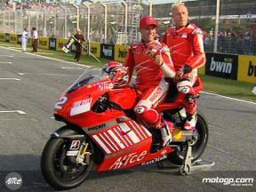 Keith Flint on MotoGP X2