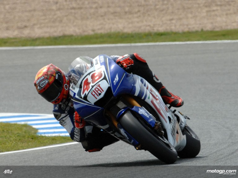Lorenzo testing at Jerez