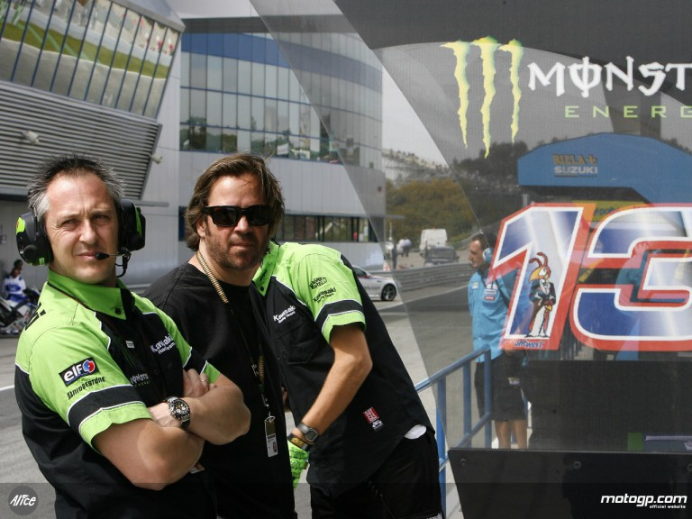 Kawasaki Racing competition manager Michael Bartholemy in Jerez