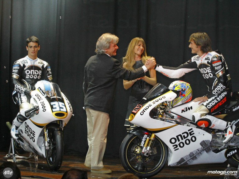 Launch of the Onde 2000 KTM team in Madrid