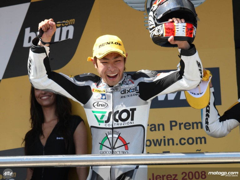 Takahashi back on the podium in Jerez