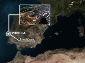 Estoril circuit close up