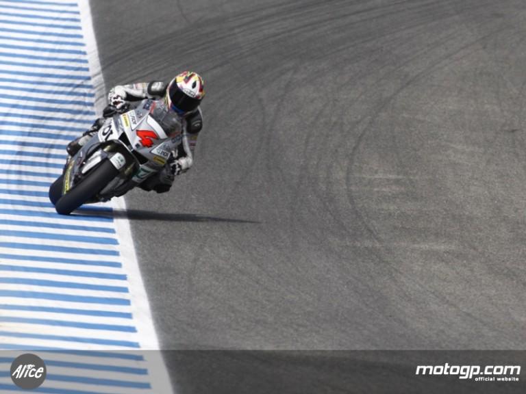 Andrea Dovizioso at the Spanish GP in Jerez