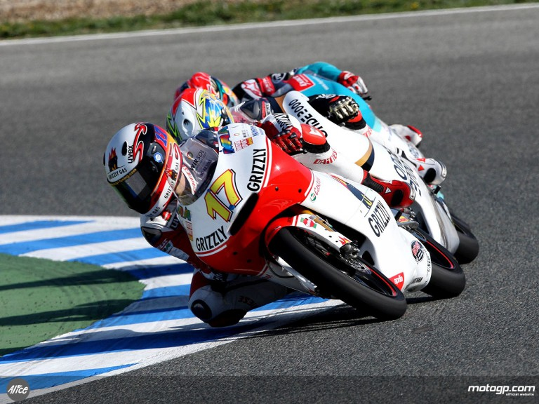 German starlet Stefan Bradl at the Spanish GP
