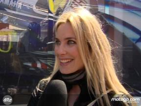 Vanessa Romero on paddock visit