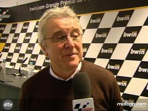 MotoGP commentator Nick Harris