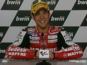 Alvaro BAUTISTA nach dem Rennen