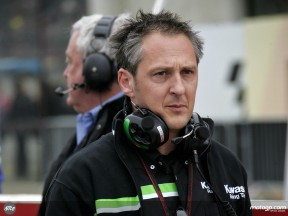 Bartholemy, Competition Manager, Kawasaki Racing Team