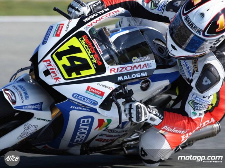 Randy de Puniet on track at Estoril