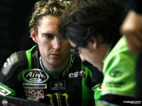 Kawasaki Racing´s Anthony and crew chief Juan Martinez