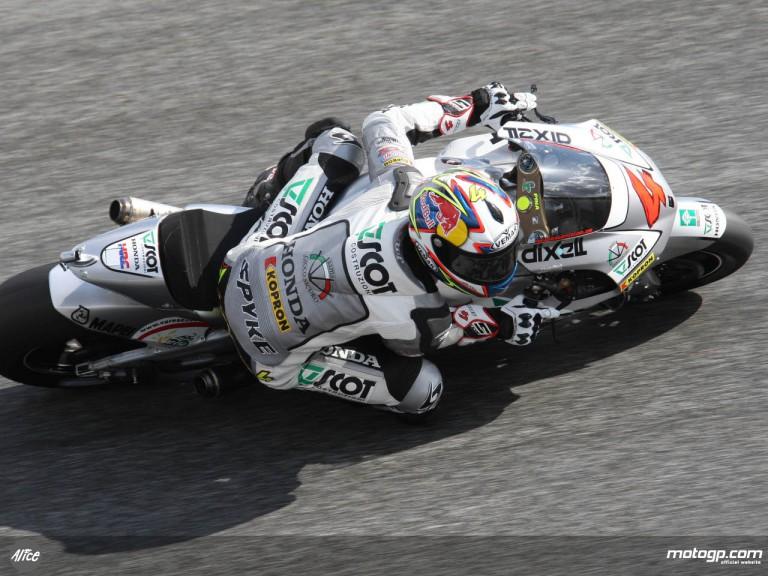 JiR Team Scot´s Andrea Dovizioso at Estoril