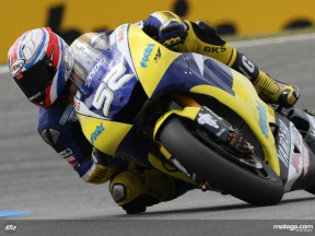 British rookie James Toseland at Estoril