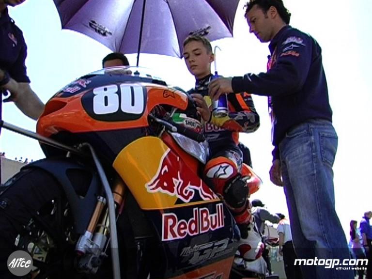 Red Bull MotoGP Academy´s Jonas Folger at Mugello