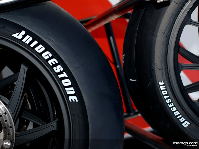 Bridgestone tyres close-up