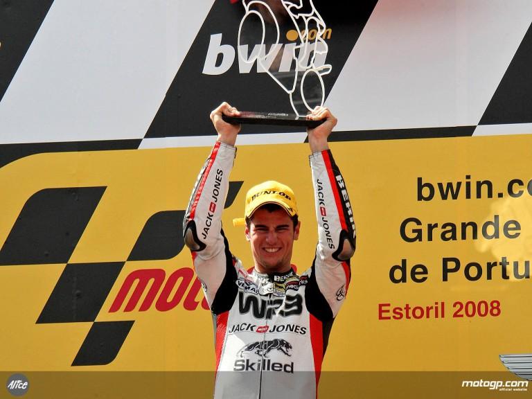 Portuguese GP winner Simone Corsi