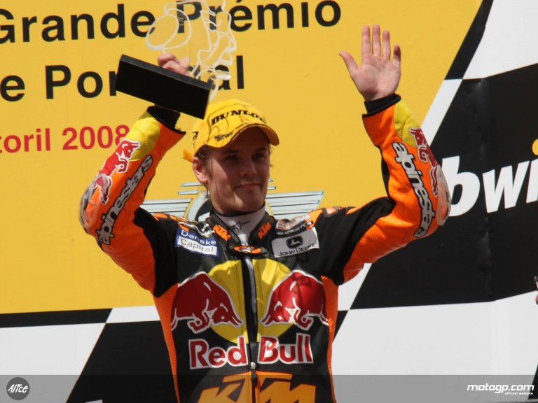 Kallio takes championship lead with 3rd at Estoril