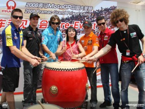 MotoGP stars discover Shanghai ahead of the Pramac GP of China