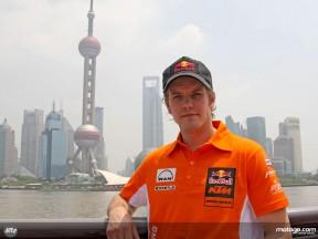MotoGP in Shanghai: Mika Kallio (Red Bull KTM 250)