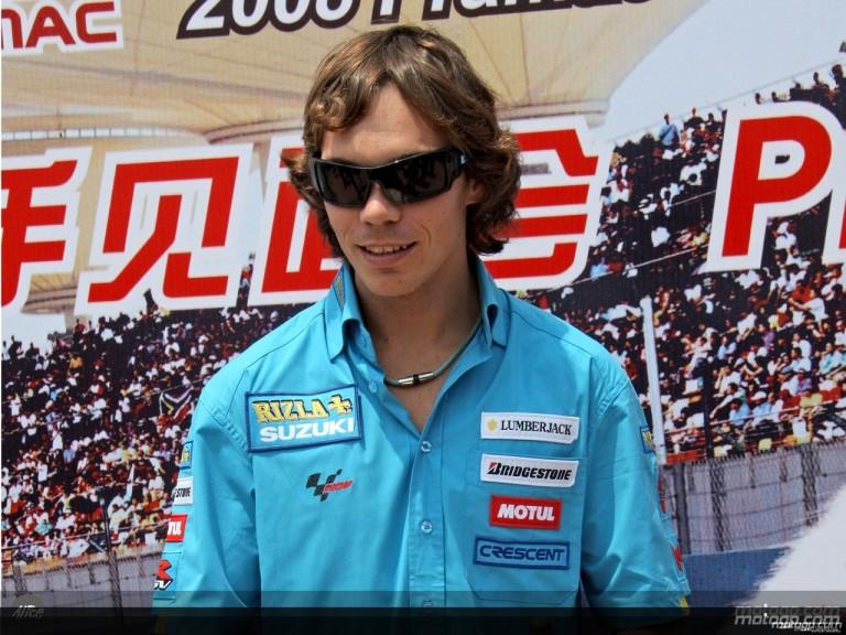 MotoGP in Shanghai: Chris Vermeulen (Rizla Suzuki)