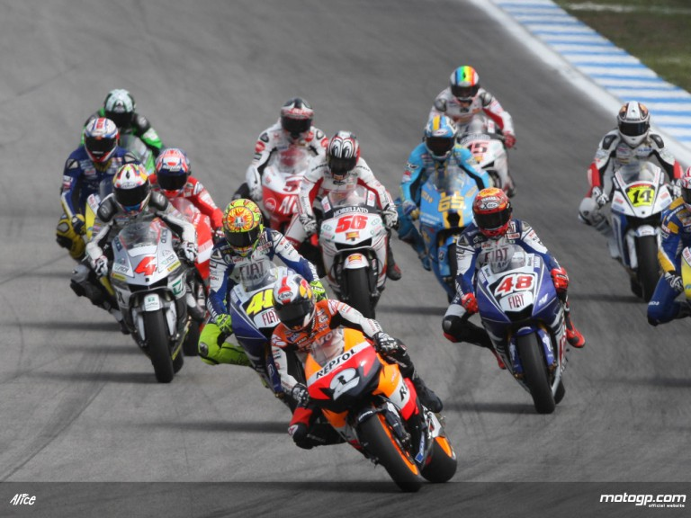MotoGP Group Action in Estoril