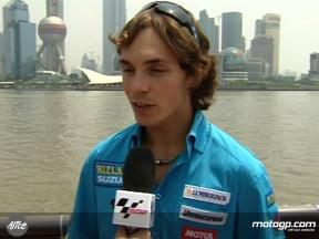 Vermeulen on fun Chinese track