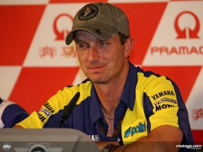 Colin Edwards at the Pramac Grand Prix of China Press Conference