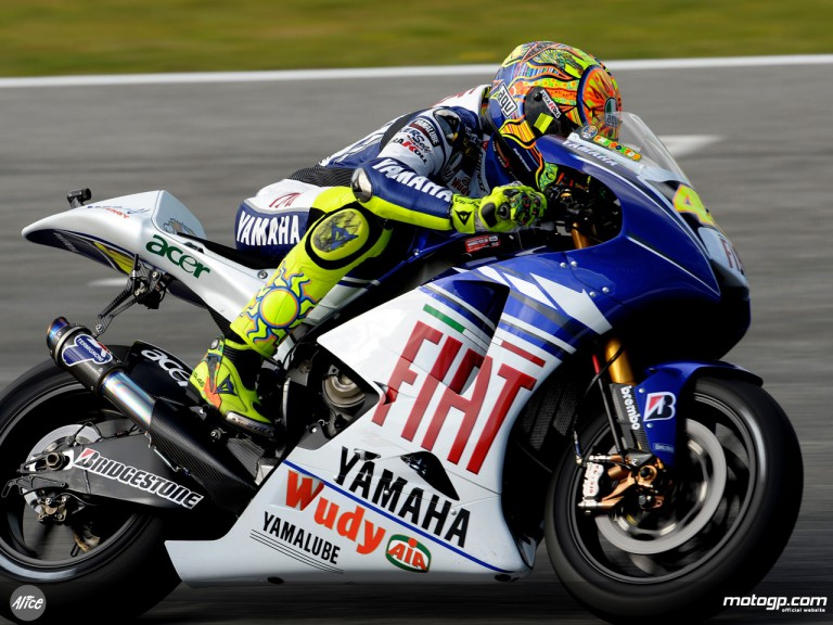 Rossi in action