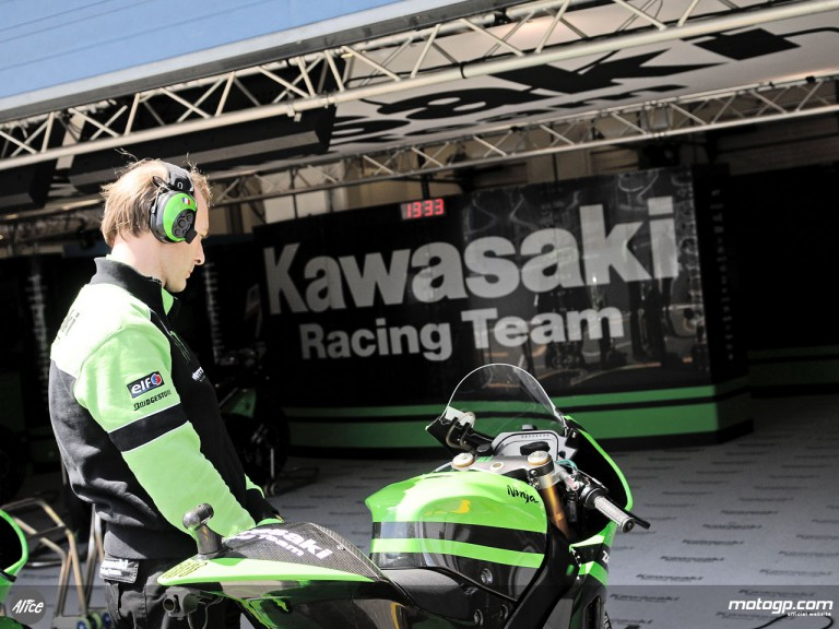Kawasaki Racing garage