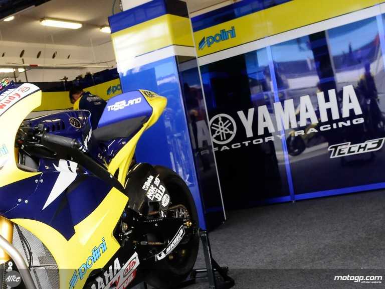 Tech3 Yamaha garage