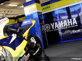Tech3 Yamaha garage
