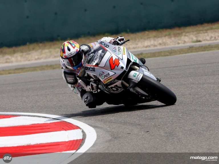 Andrea Dovizioso in action in Shanghai (MotoGP)