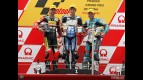 Corsi, Olive and Terol on the podium at Shanghai (125cc)