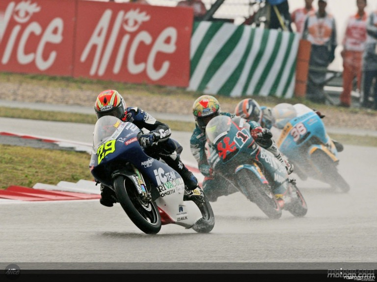 125cc Group in action in Shanghai