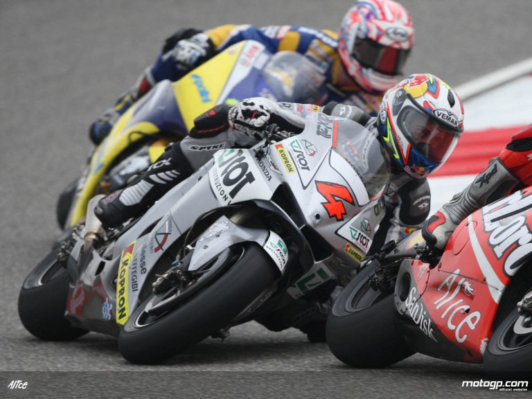 Andrea Dovizioso dicing for fourth with Melandri at Shanghai