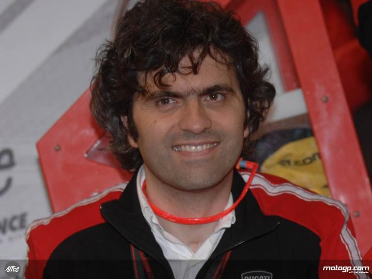Ducati Corse General Manager Filippo Preziosi
