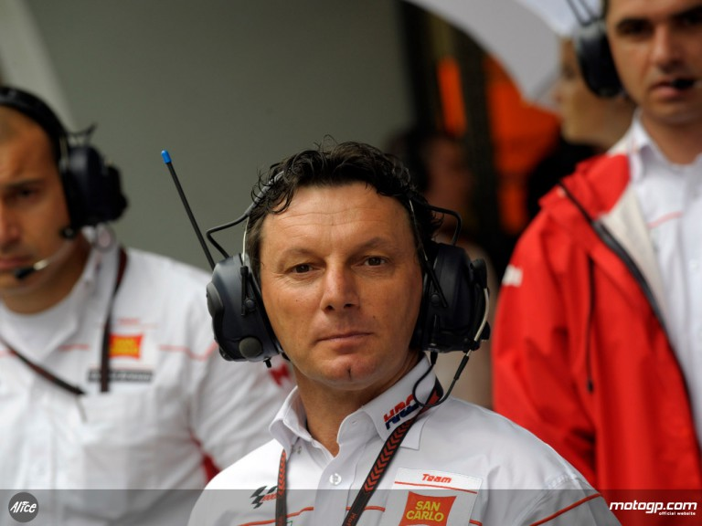 Team manager Fausto Gresini