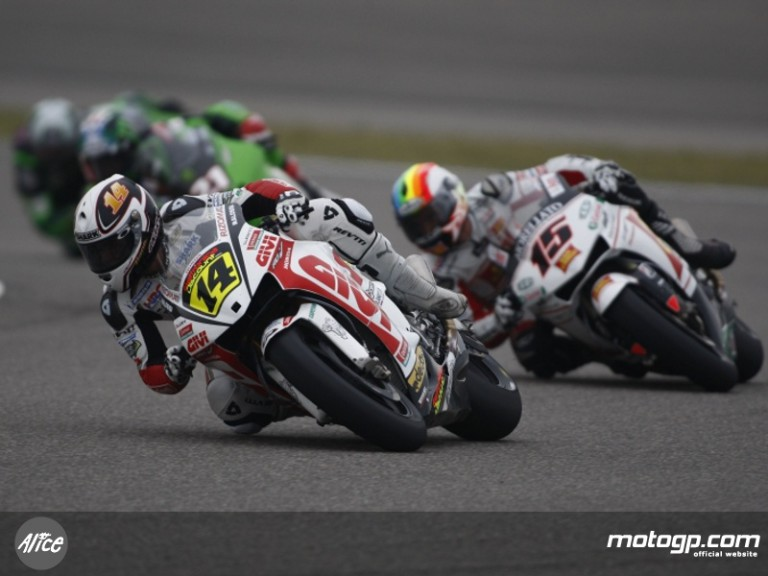 De Puniet and De Angelis at the Shanghai International Circuit in China
