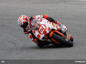 Hector Barbera in action (MotoGP)
