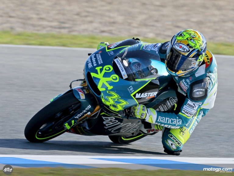 Sergio Gadea in action (125cc)