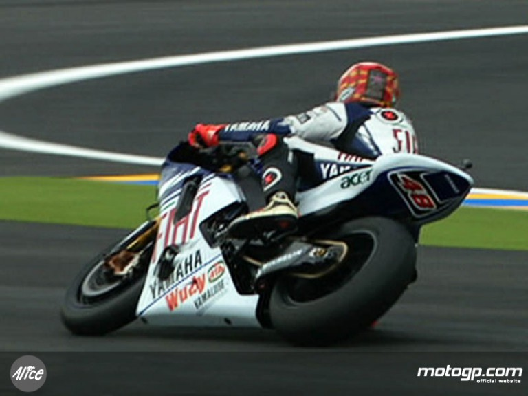 Jorge Lorenzo in Le Mans (FP2)